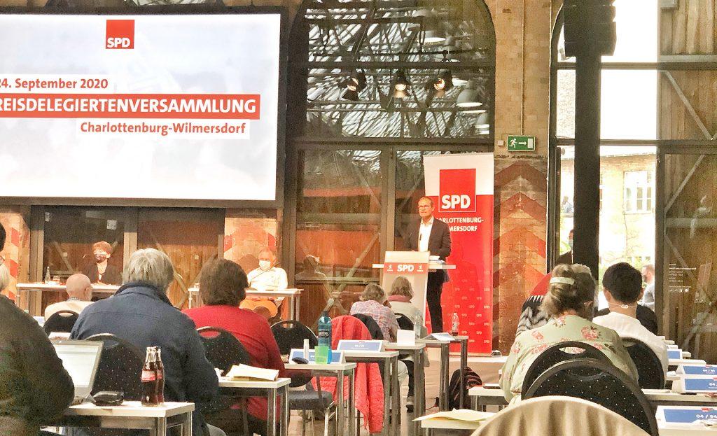 Foto: Rede von Michael Müller
