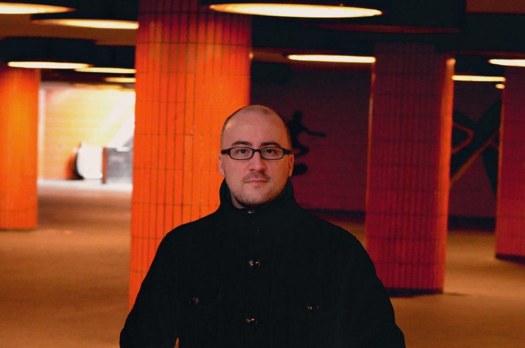 Foto: Alexander Sempf in der Unterführung Messedamm