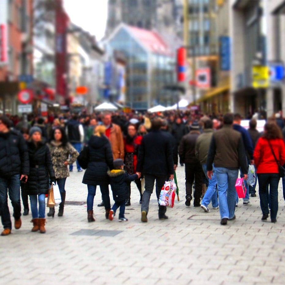 Symbolbild: Einkaufsstraße
