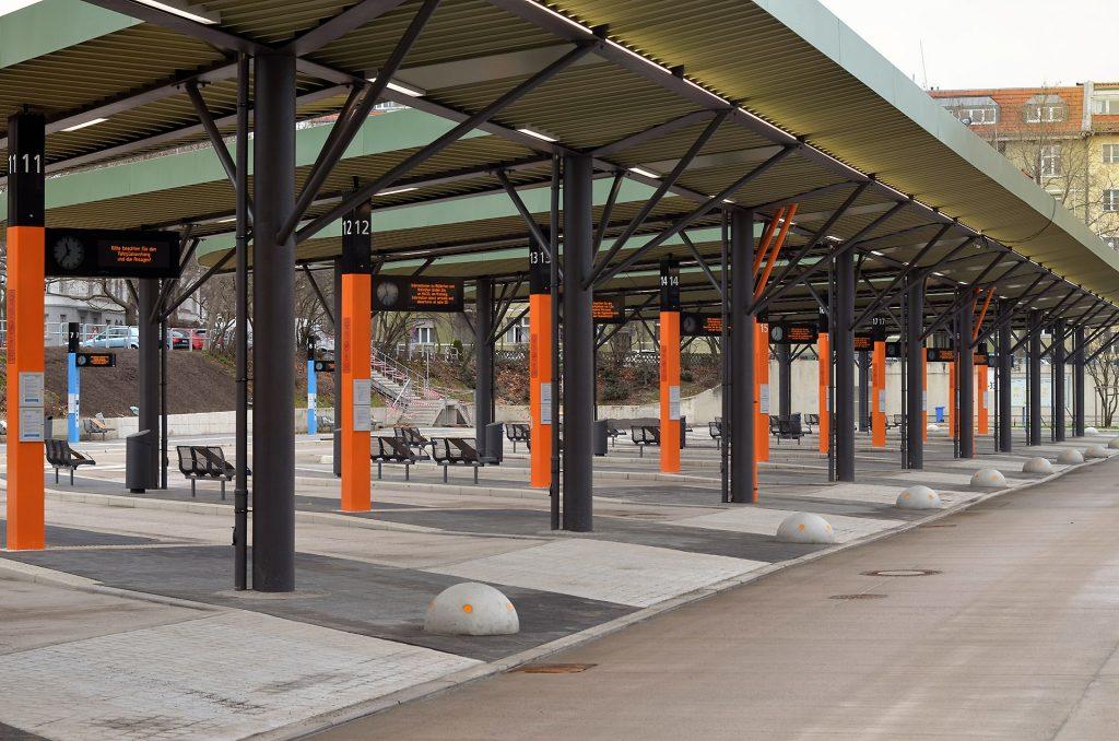 Foto: Zentraler Omnibusbahnhof (ZOB)